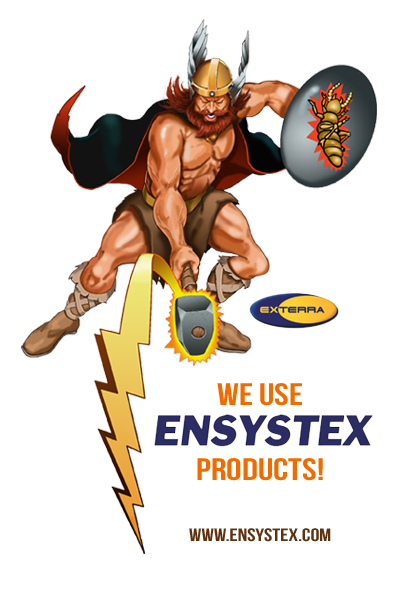 We Use ENSYSTEX Products!