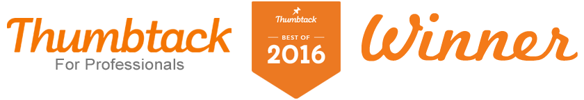 Thumbtack Professionals Best Of 2016 Winner!
